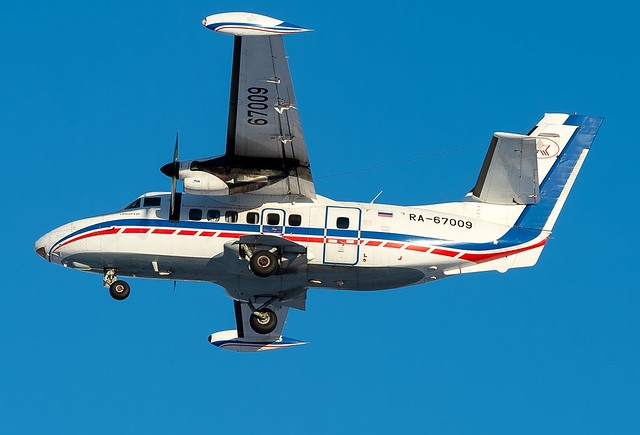RA-67009 Petropavlovsk-Kamchatsky Air Enterprise Let L-410UVP-E20 Turbolet