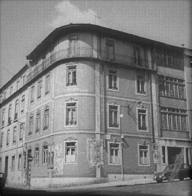 Rua Marques da Silva, 50/Rua de Arroios, 88, Lisboa (J.H. Goulart, 1967)
