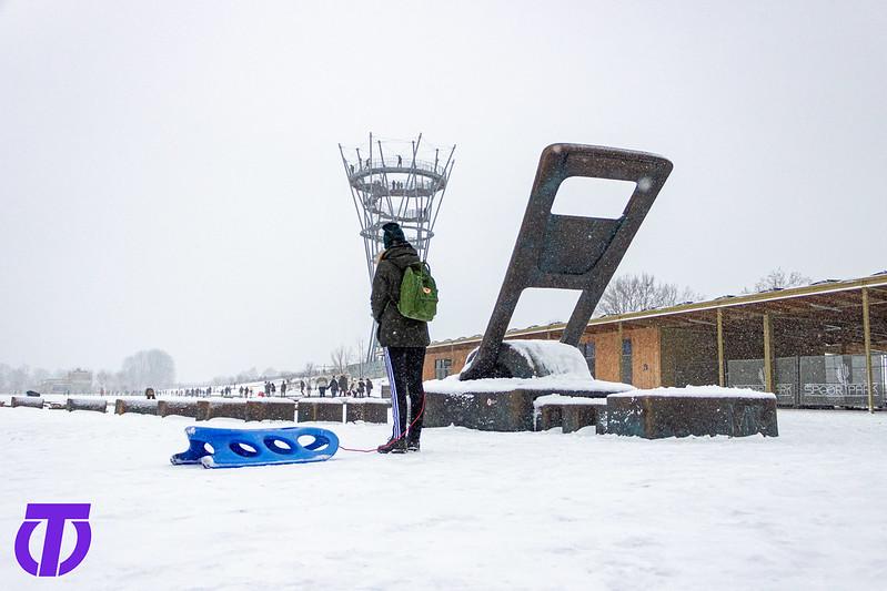 Sneeuw in Tilburg   Zondag 7 Februari 2021