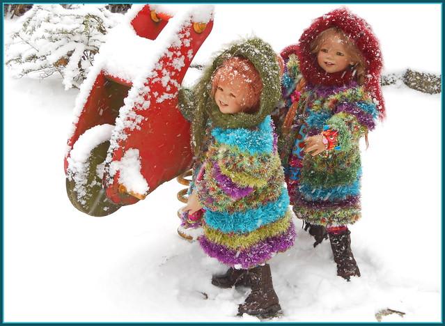 🍄💫🌲✨⛄️⛸💖⛸⛄️✨🌲💫🍄 Sanrike und Tivi ... Schnee von gestern