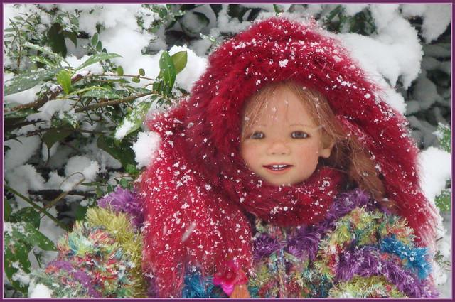 🍄💫🌲✨⛄️⛸💖⛸⛄️✨🌲💫🍄Tivi ... es hat geschneit ...