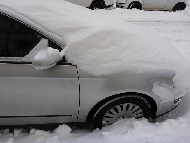 Schnee in Leipzig