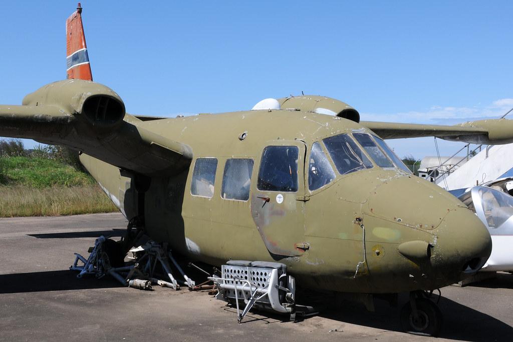 Piaggio P.166 ML1 VH-GOB, Australian Aviation Museum, Bankstown, NSW, Australia.