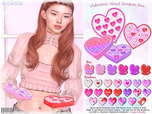[ bubble ] Valentines Heart Bonbons Box