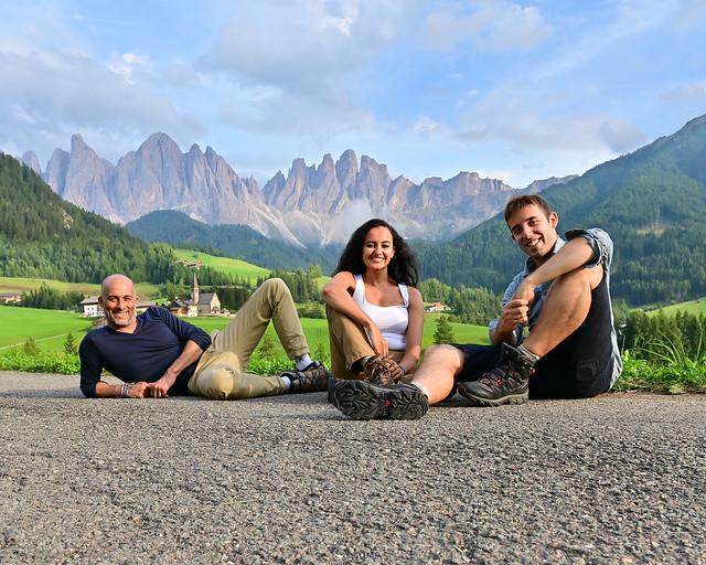 Ruta por Dolomitas