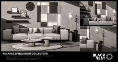 BLACK NEST | Kulkea Living Room Collection | Collabor88