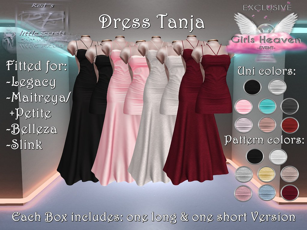 Dress Tanja exclusive at Girls Heaven Event