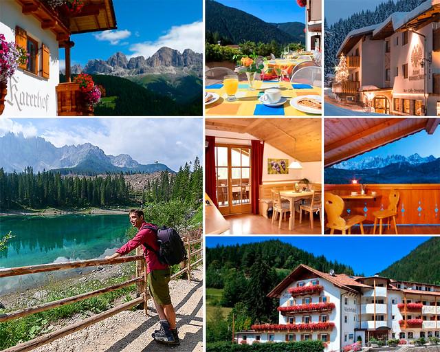 Alojamientos baratos en Dolomitas cerca del Lago Carezza