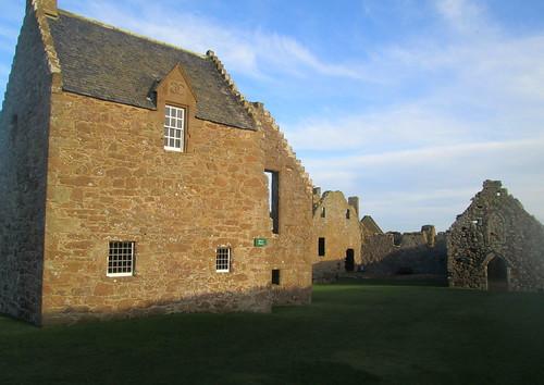 Part of Dunnottar Castle