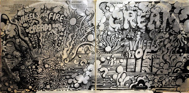 Cream...'Wheels Of Fire'  Double LP Gatefold Vinyl Album
