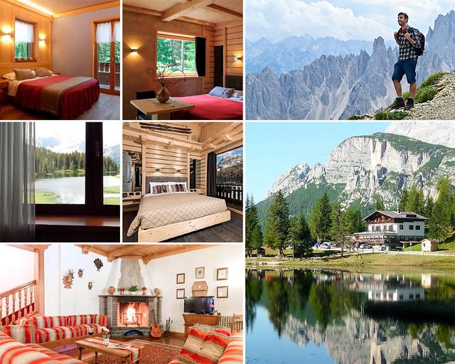 Lago misurina, una de las mejores zonas donde dormir en Dolomitas