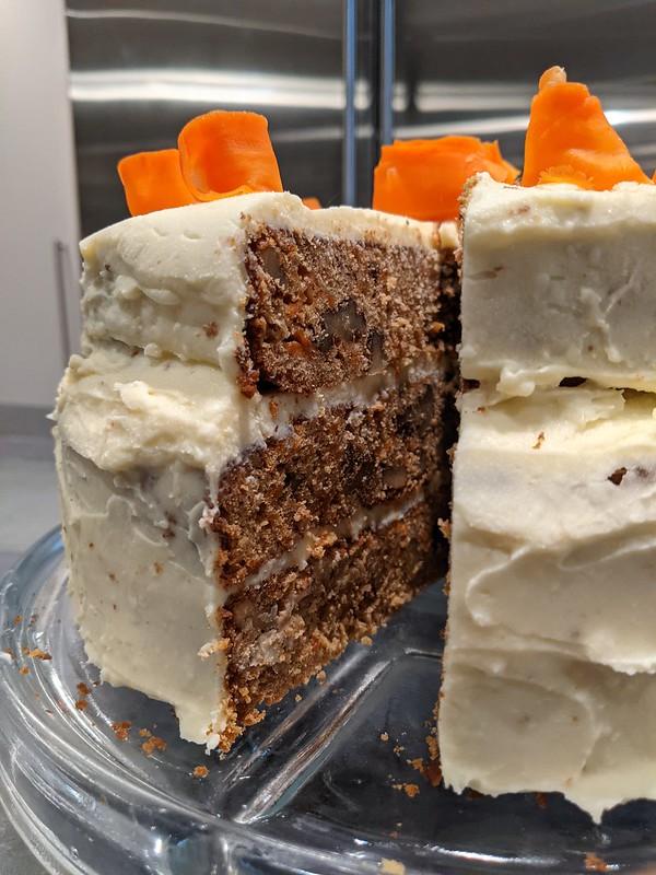 Brown Butter Carrot Cake