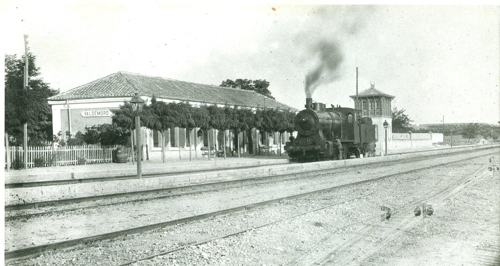 170 años de trenes en Valdemoro