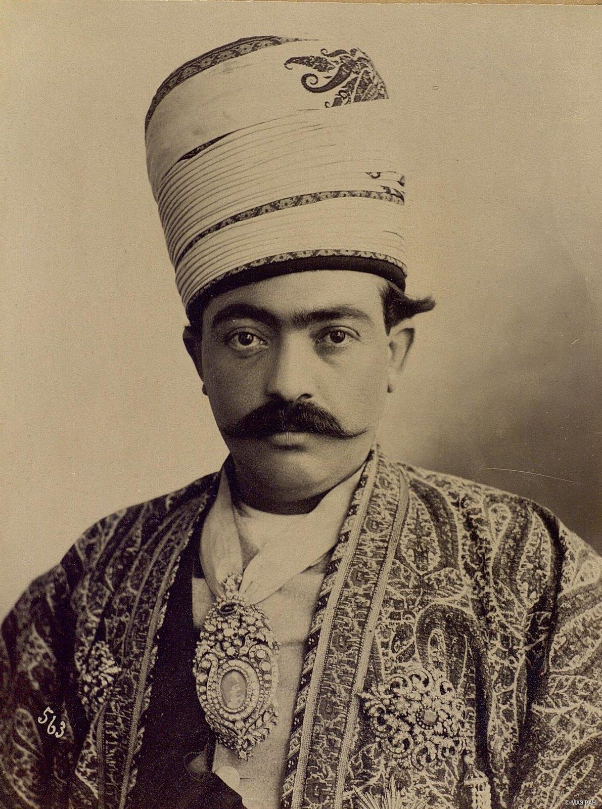 Портрет зятя Насреддин-шаха