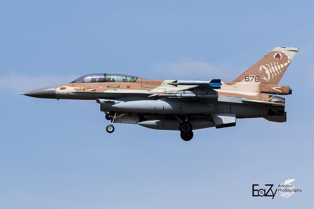 676 Israeli Air Force General Dynamics F-16D Fighting Falcon