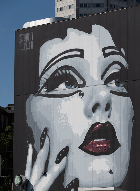 Actress Mural - Damien Mitchell