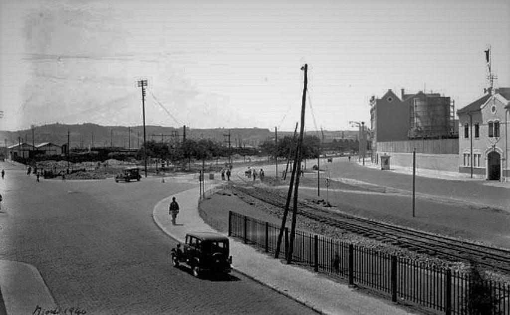 Rua do Cais de Alcântara, Lisboa (E.Portugal, 1940)