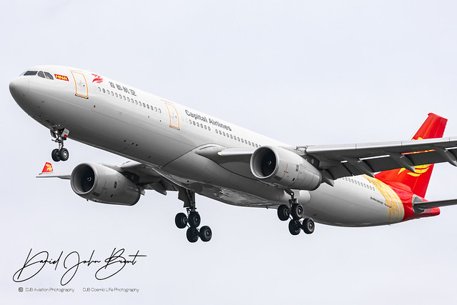 Capital Airlines • Airbus A330 • B-8679
