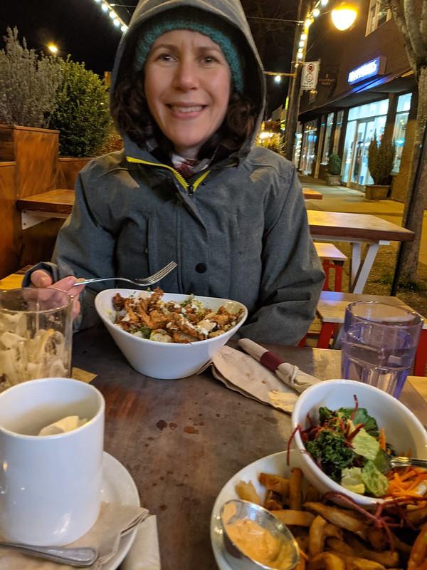 Patio Dinner at Meet on Main Street