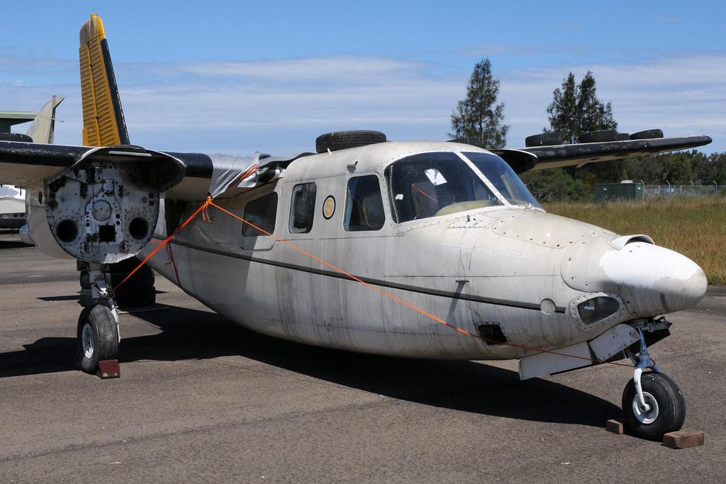 Rockwell 680E Super Commander N9354R, Australian Aviation Museum, Bankstown, NSW, Australia.