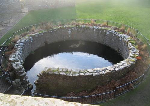 Dunnottar Castle Cistern from Upper Floor