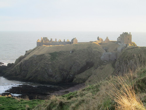 Dunnottar Castle, from North