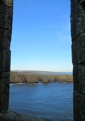 Window, Dunnottar Castle,