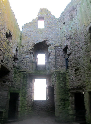 Interior, Dunnottar Castle