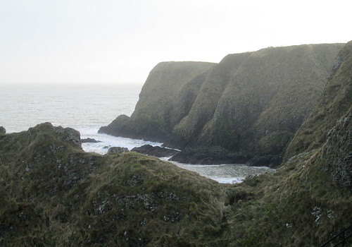 Cliffs from Path near Dunnottar Castle