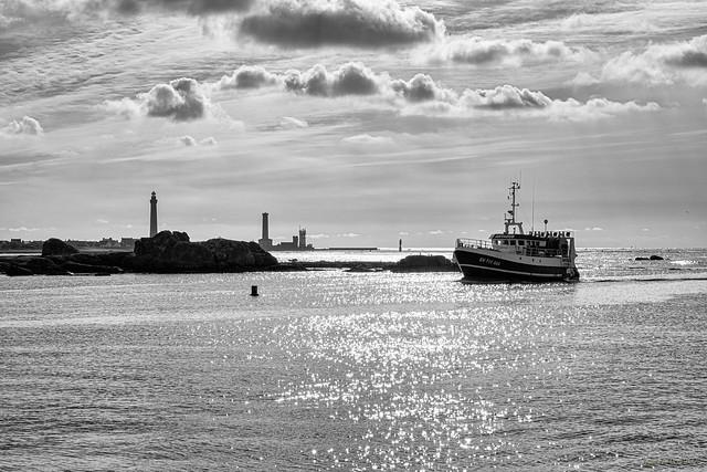 Retour tranquille au port