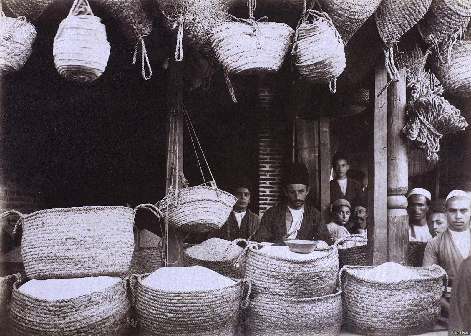 Продавец риса