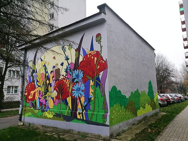 """Magdalena Turek-Staniucha, """"Z rodziną najlepiej wychodzi się na muralu"""""""