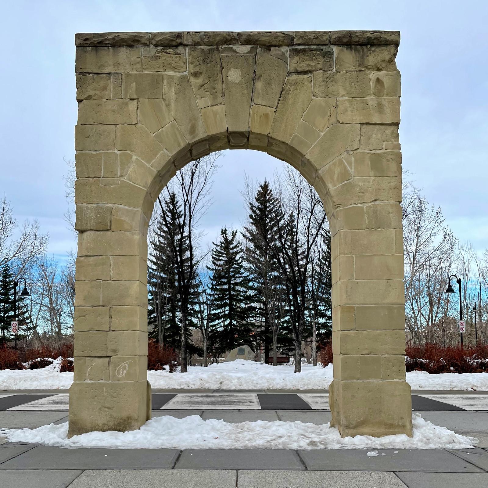 Lone archway