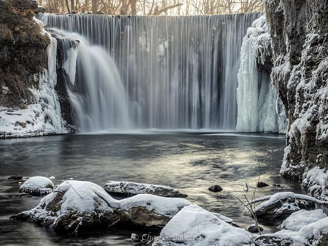 Cedar Cliff Falls Winter