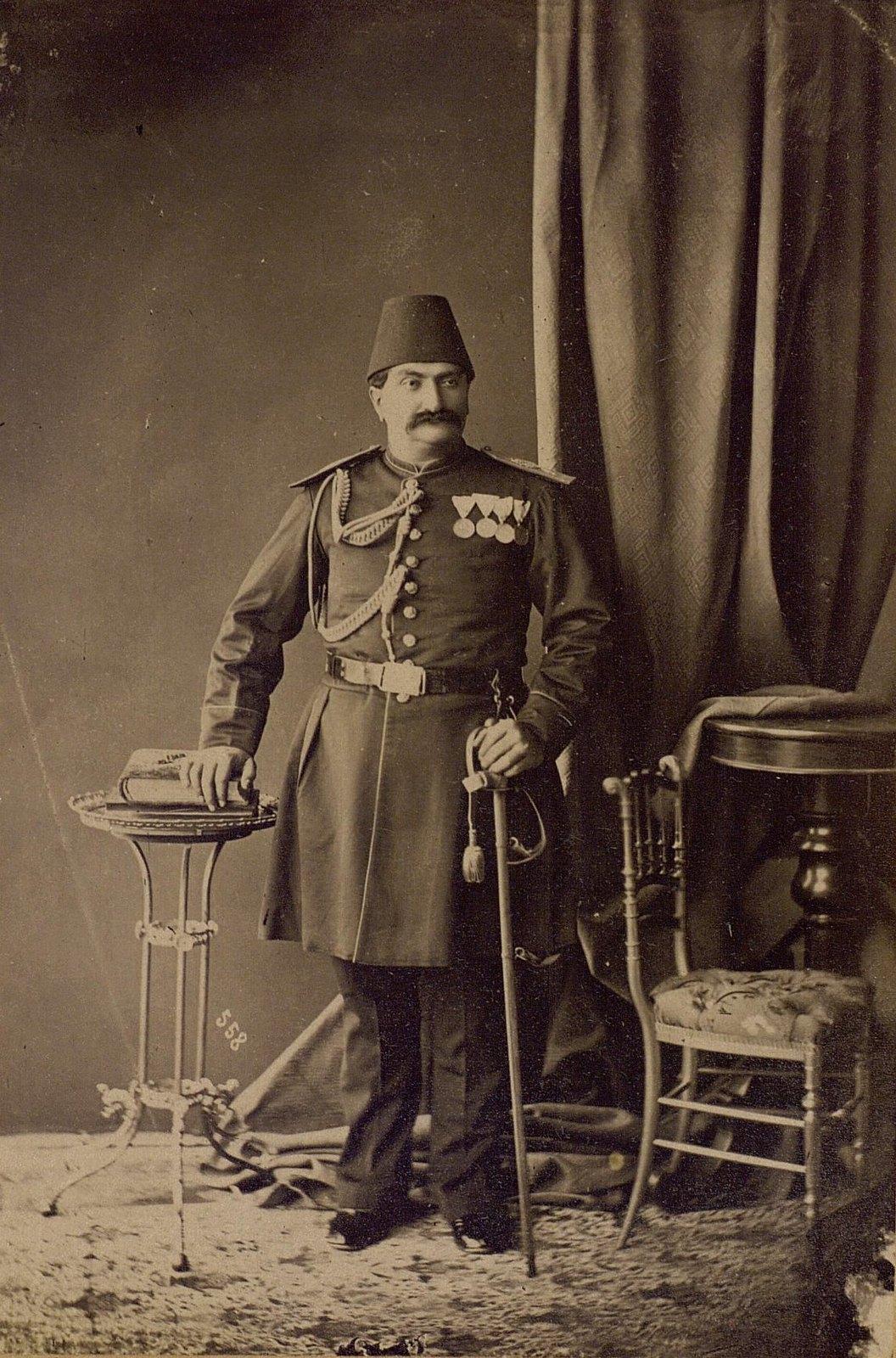 Принц Зеле Султан, сын Насреддин-шаха