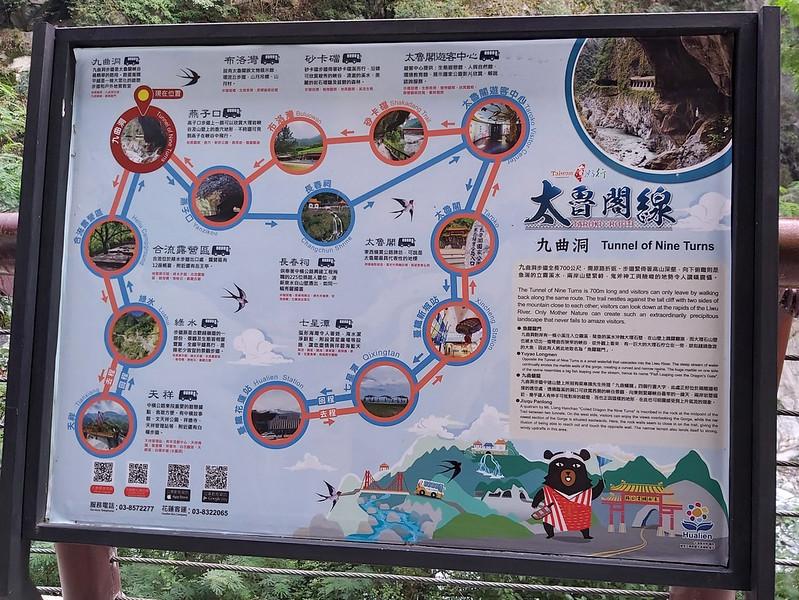 Zhuilu Old Trail in Taroko Gorge, Hualien