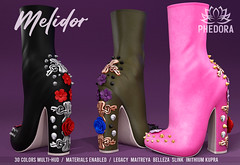 """Phedora. - """"Melidor"""" ankle boots available at Uber ♥"""