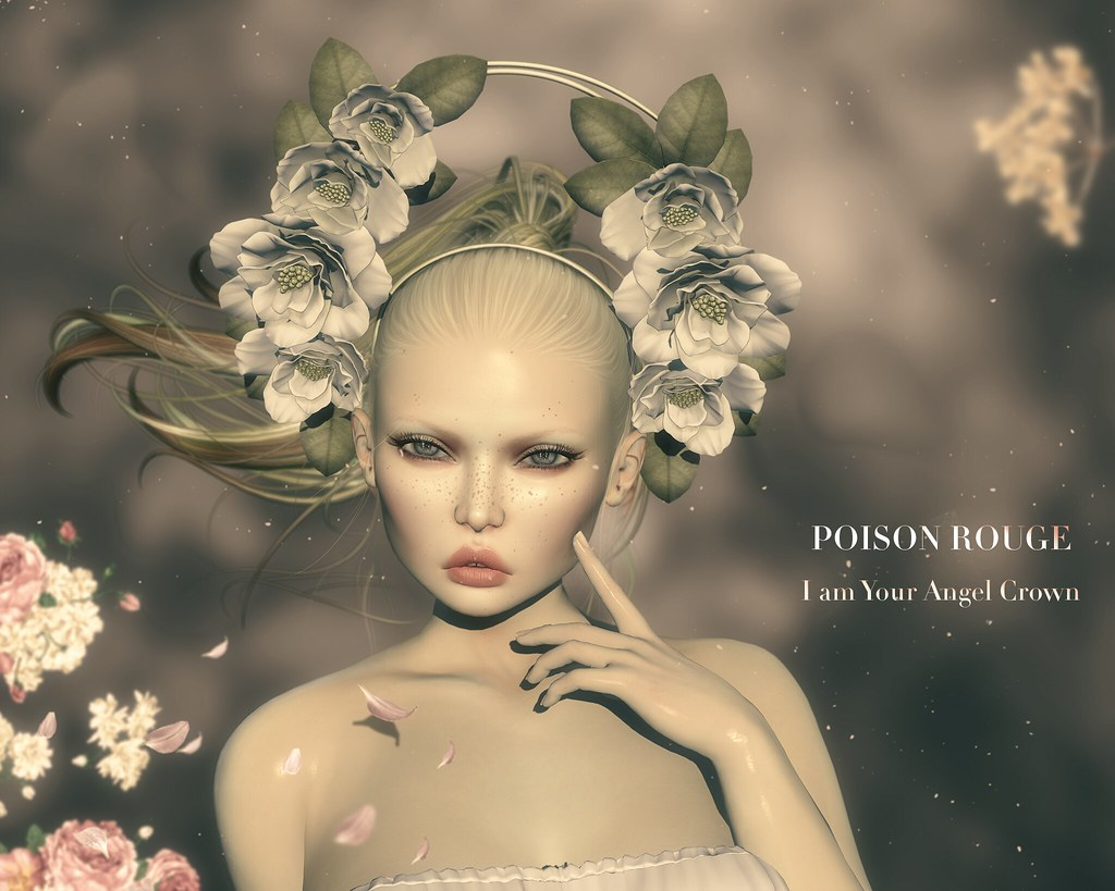 POISON ROUGE I am Your Angel Crown