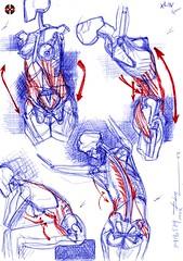 Die Gestalt Des Menchen (XLIV) - Artist: Leon 47 ( Leon XLVII ) Sketch, Sketches, Schizzo, Schizzi