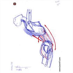 Die Gestalt Des Menchen (XLVI) - Artist: Leon 47 ( Leon XLVII ) Sketch, Sketches, Schizzo, Schizzi