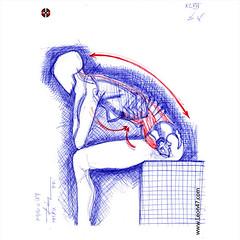 Die Gestalt Des Menchen (XLVII) - Artist: Leon 47 ( Leon XLVII ) Sketch, Sketches, Schizzo, Schizzi