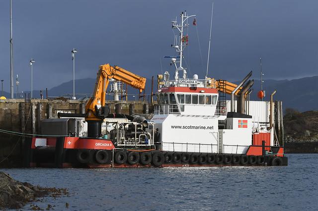 Orcadia II - Kyle of Lochalsh - 25-03-19.