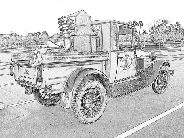 Hillbilly Hooch Ford Model A Pickup 1929
