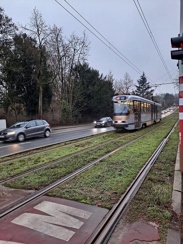 El tranvía de Bruselas