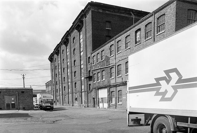 The Granary, Kings X Goods Yard, Kings Cross, Camden, 1989 89-4f-55