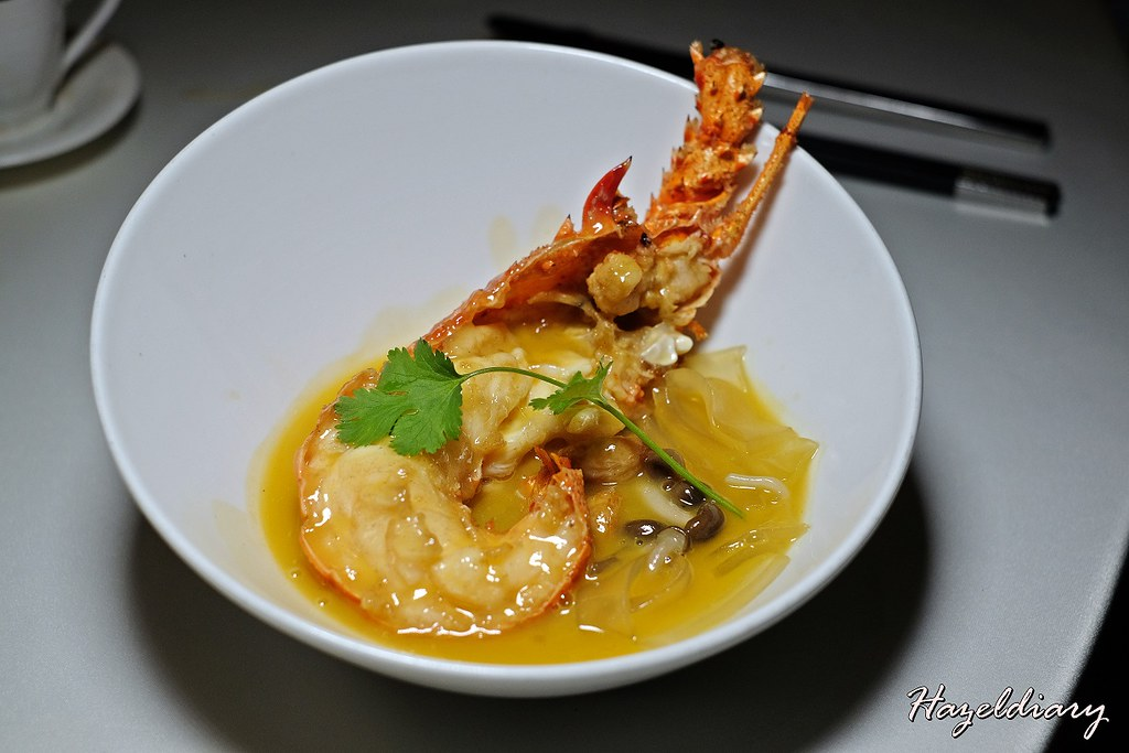 Shisen Hanten by Chef Kentaro-Braised glass noodle with lobster in superior broth