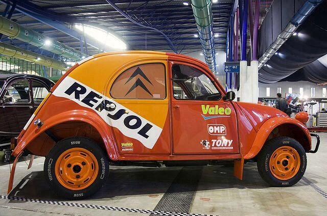 Citroën 2CV Repsol
