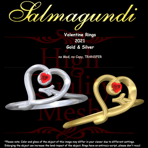 FREE GIFT: Valentine Rings 2021