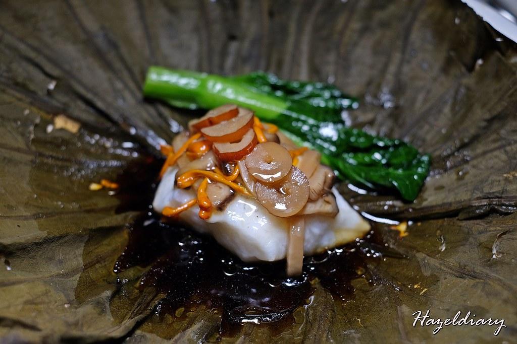 Shisen Hanten by Chef Kentaro-Steamed Grouper