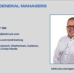 Keltruck Scania Regional General Manager, Andrew Long